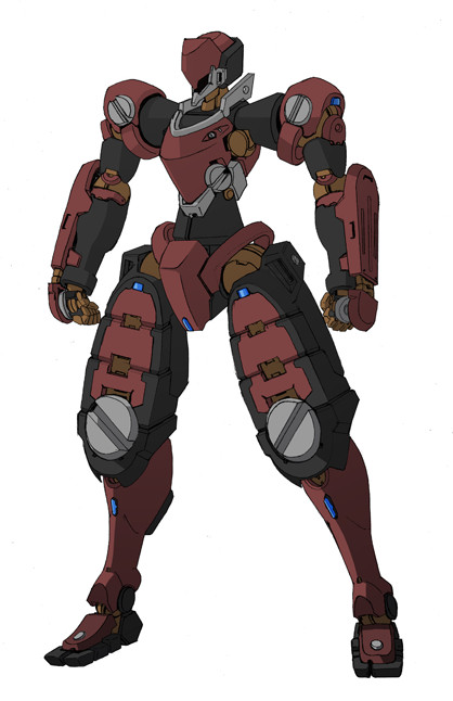 "Type-A 75 Zan ""colored"" by Rekkou"
