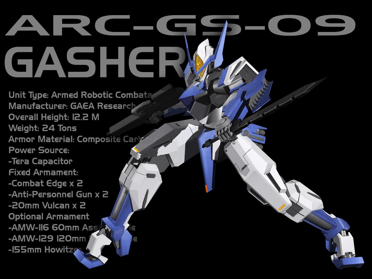 Gasher 3D by Rekkou