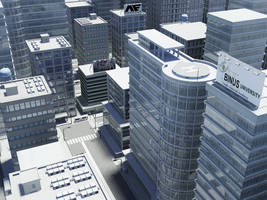 3D City by Rekkou