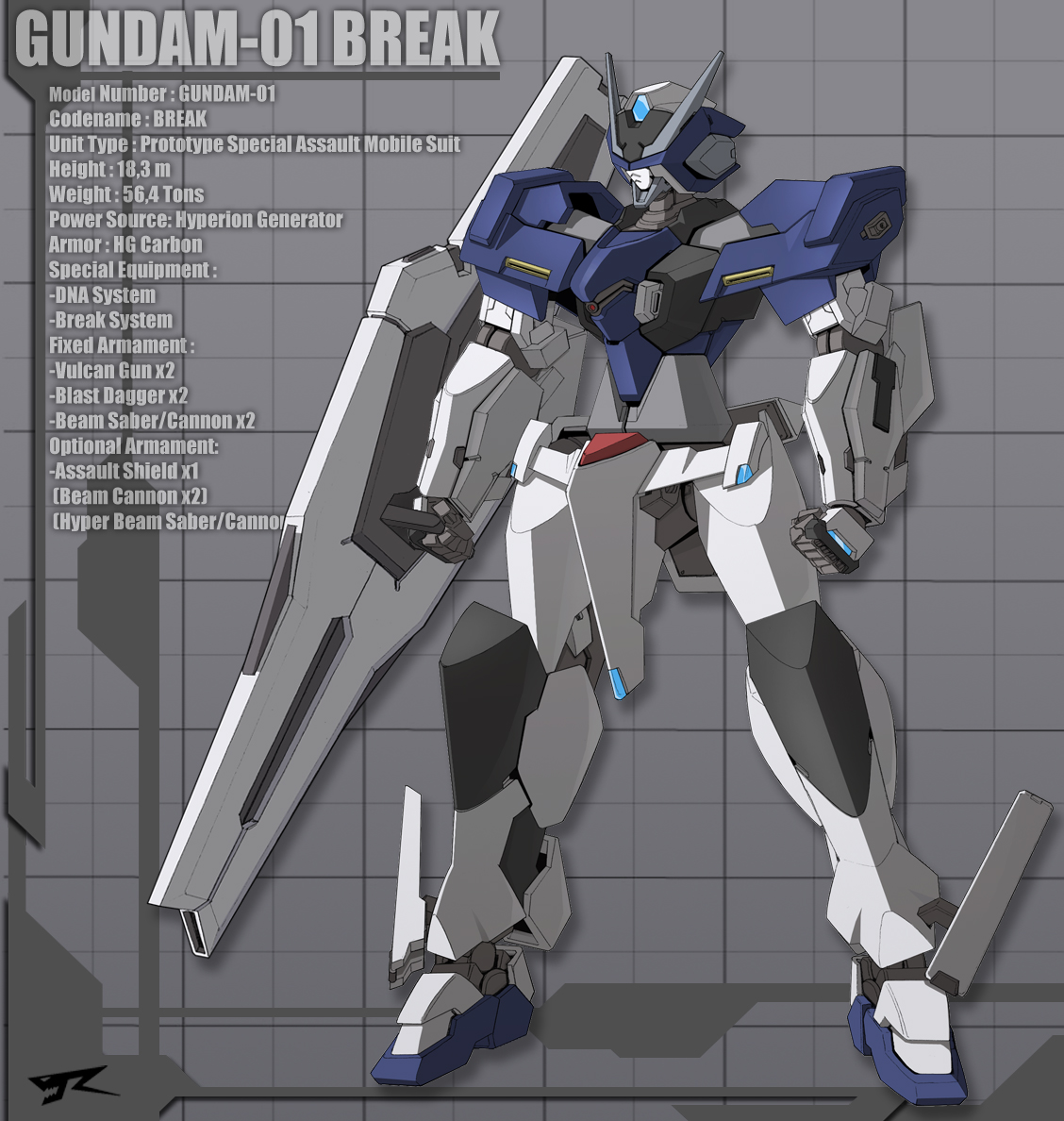 Break Gundam 2011 by Rekkou