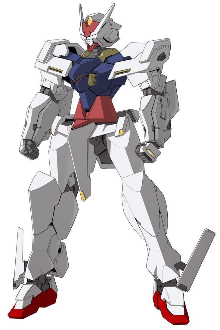 Break Gundam rx-28-2 color by Rekkou