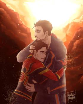 [Infinity War spoiler] ''I don't wanna go''