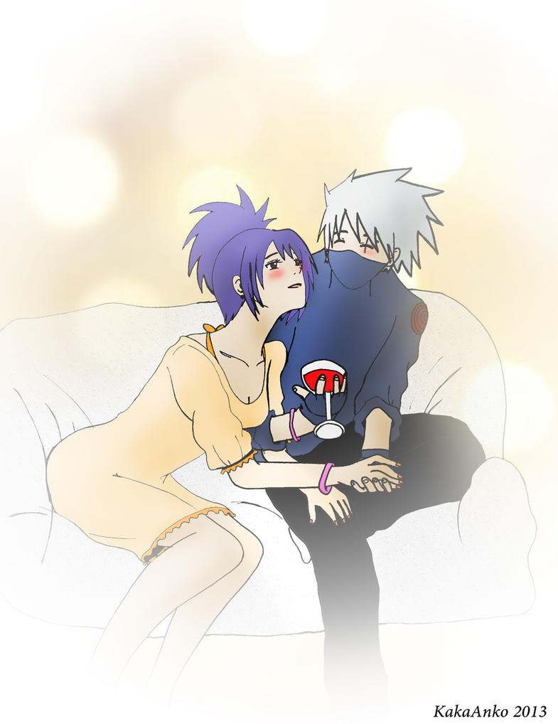 Kakashi and Anko in LOVE *Q* by Kamel7 on DeviantArt