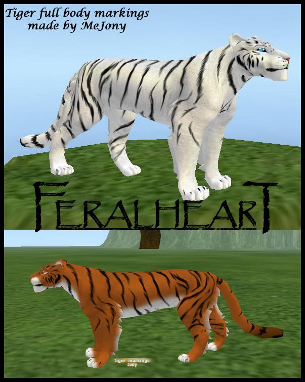 Feral Heart: FeralHeart Tiger Markings By Mejony On DeviantArt
