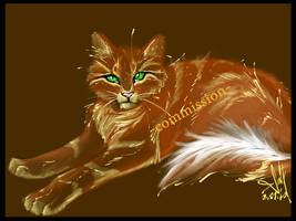 golden kitty by MEJ0NY