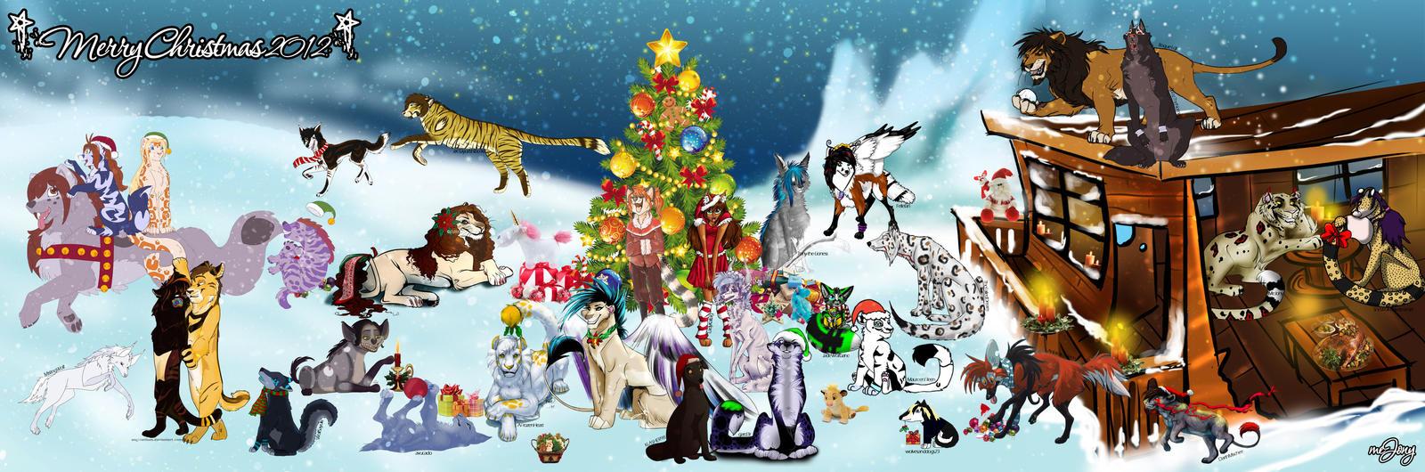 Christmas Collab 2012 by JonyRichardson