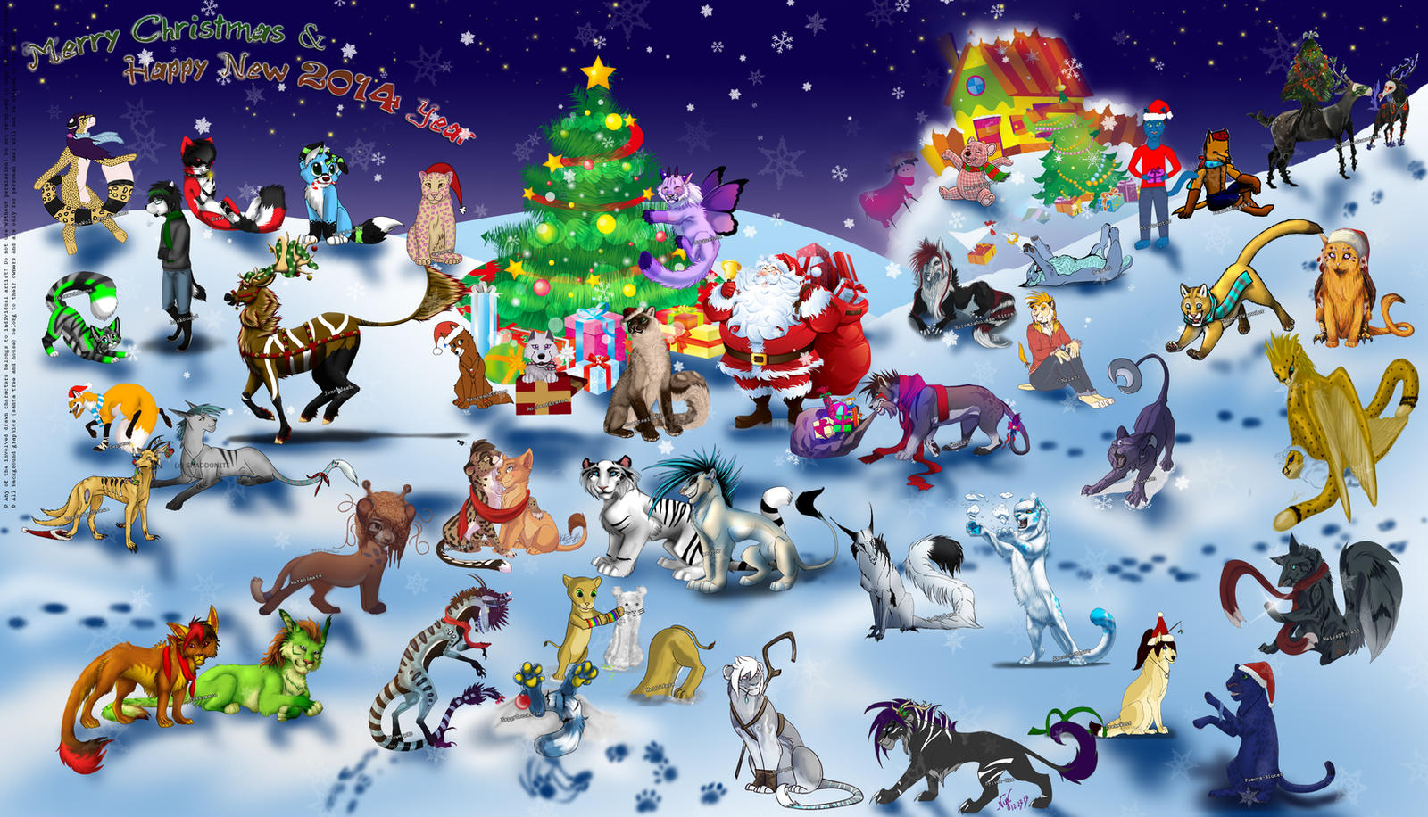 Christmas COLLAB 2013 by JonyRichardson