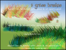 GRASS brushes by MEJ0NY