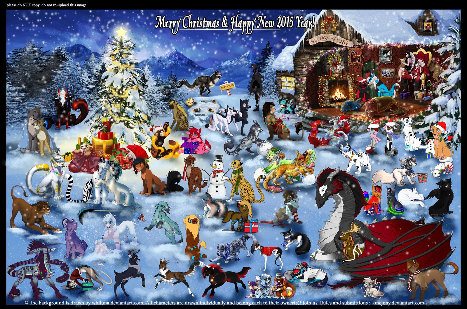 ChristmasCollab2014 by JonyRichardson