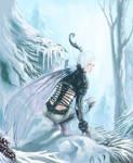 Winter Faerie Warrior - color version