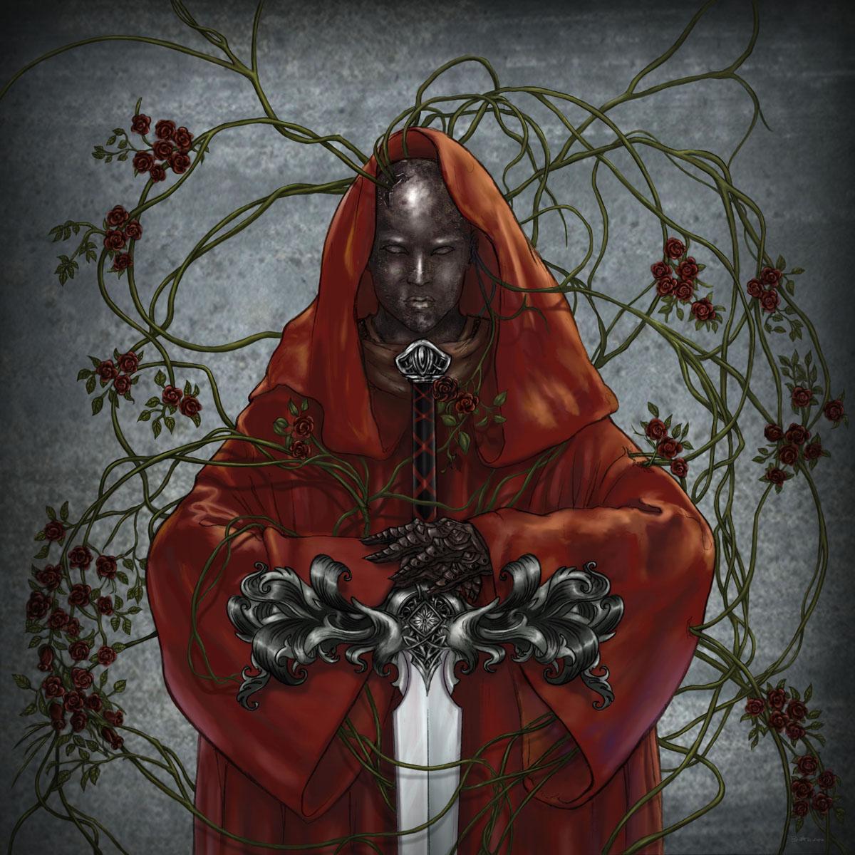 Crimson Saint - CD cover art