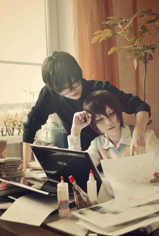 Sekai-ichi Hatsukoi_Work by AoshiNiKo