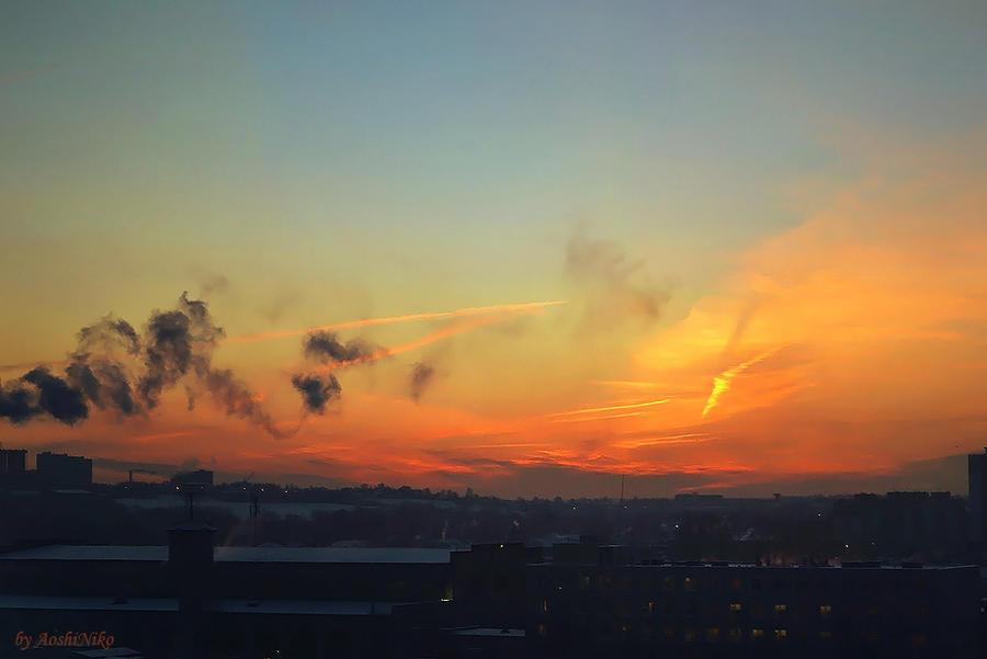 Burning Sky by AoshiNiKo