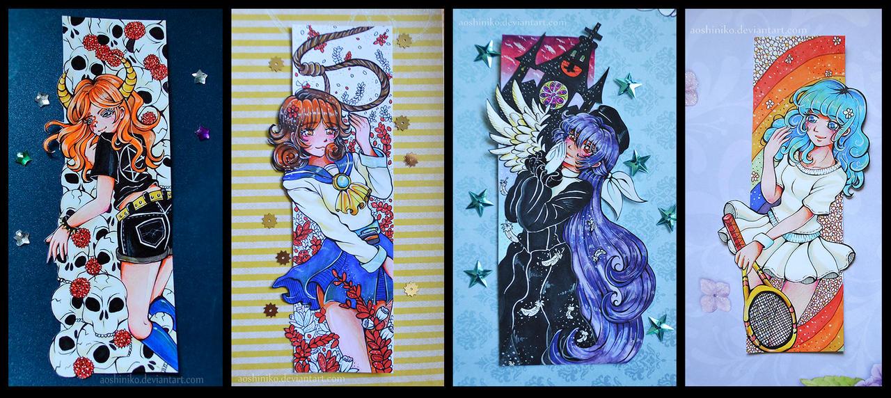[Bookmarks 2] by AoshiNiKo