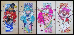 [Bookmarks 4] by AoshiNiKo