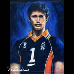 Sawamura Daichi (Tanaka Keita) Haikyu!! by Nihonikitai