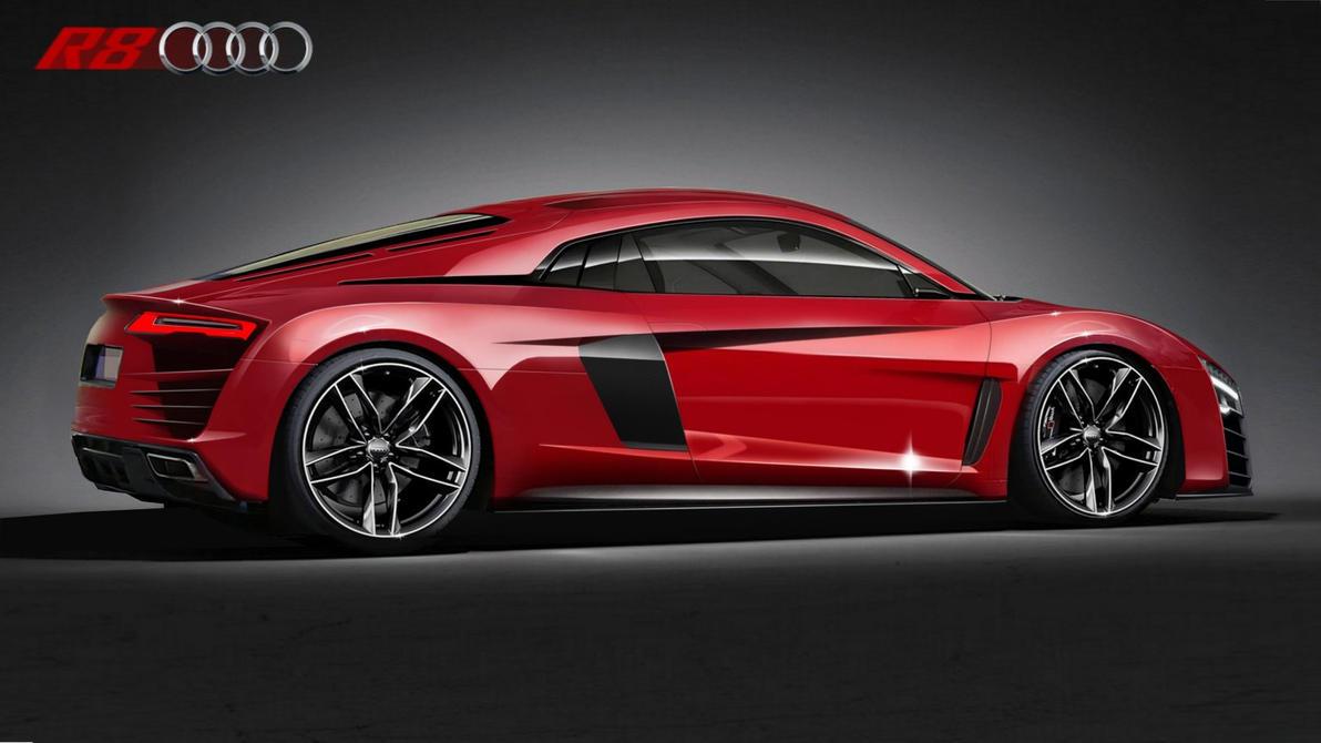 new Audi R8 concept by Thorsten-Krisch on DeviantArt