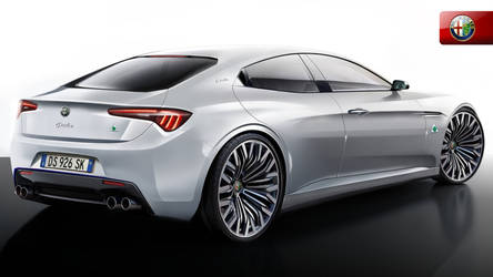 Alfa Romeo Giulia Concept Rearangle by Thorsten-Krisch