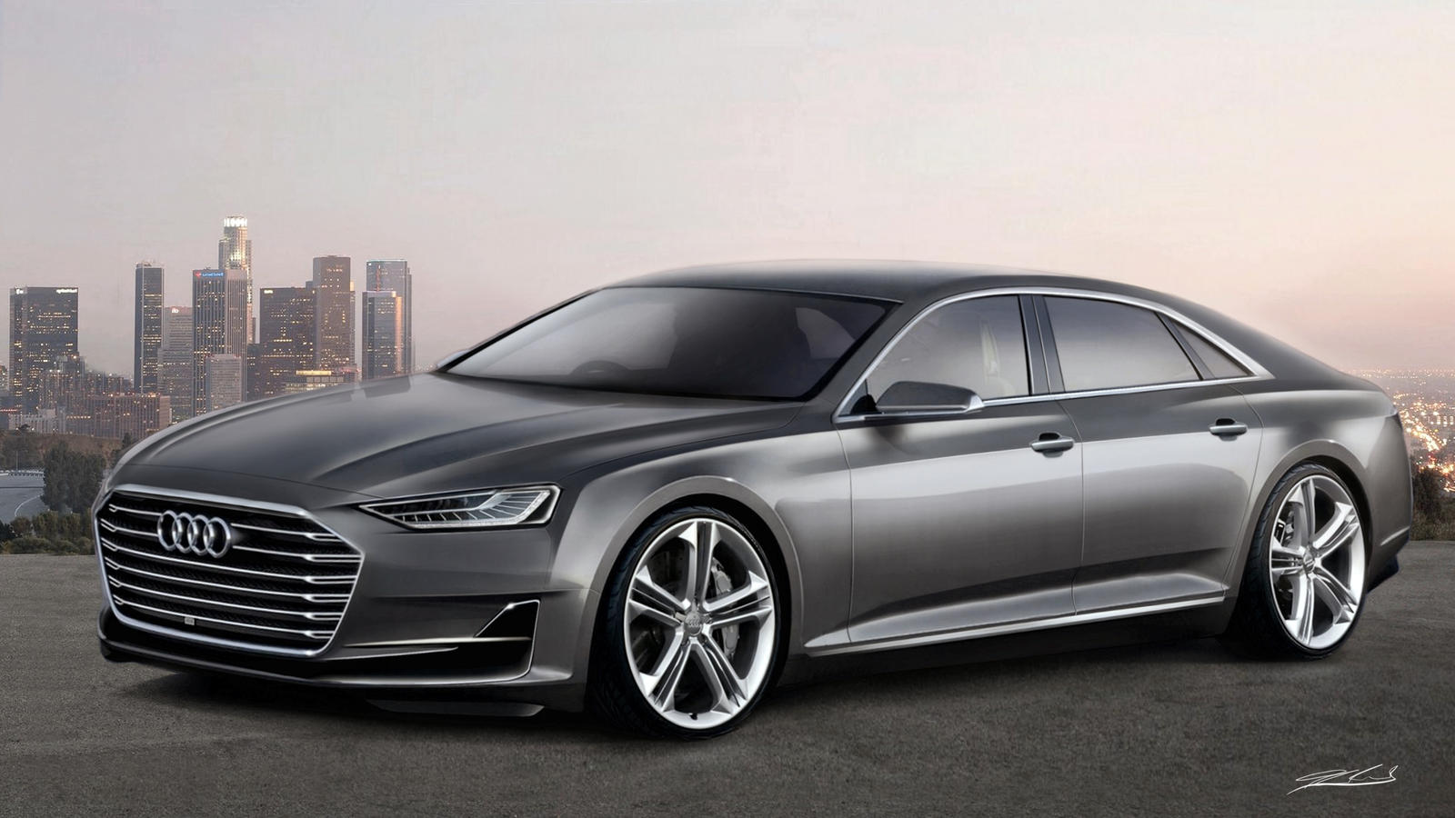 Audi A8 2018 Concept By Thorsten Krisch On Deviantart