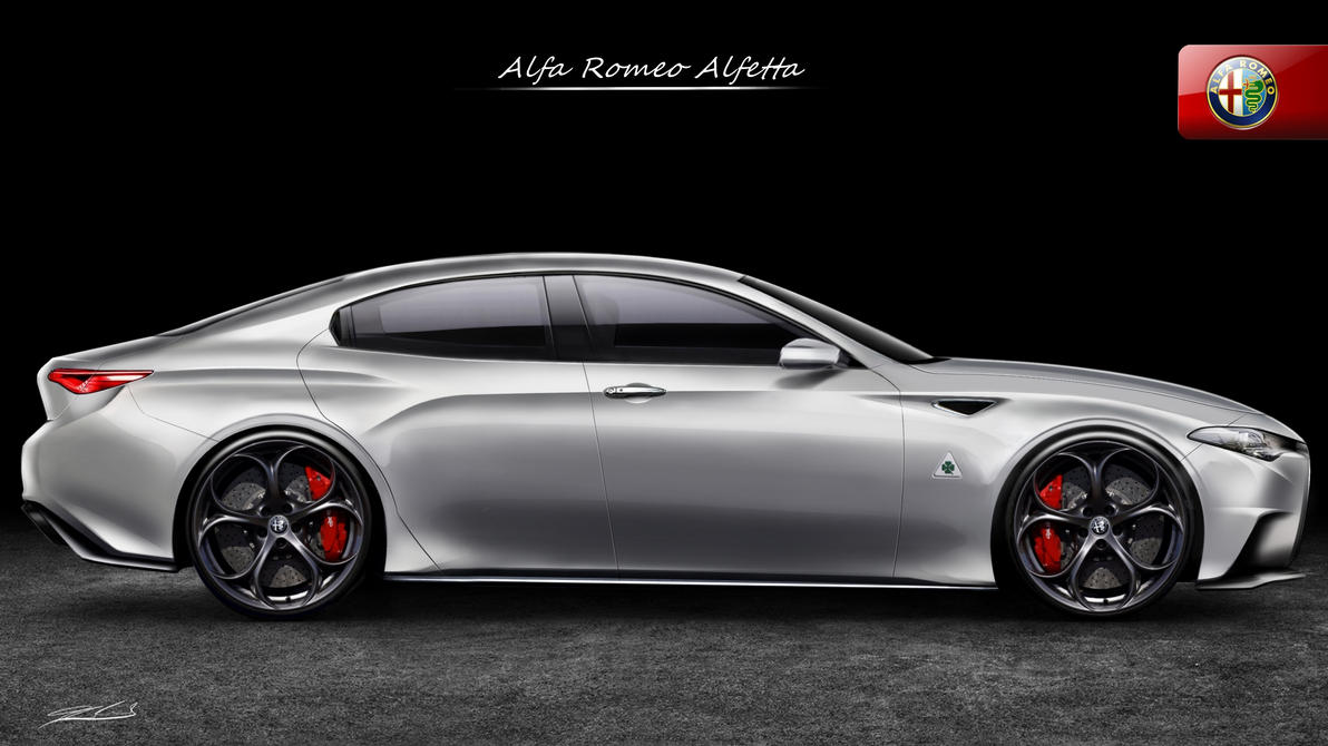 Alfa Romeo Alfetta 2018 >> Alfa Romeo Alfetta Quadrifoglio Verde Concept by Thorsten-Krisch on DeviantArt