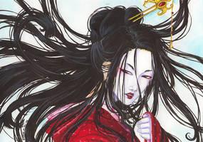geisha by Emi-Hotaru