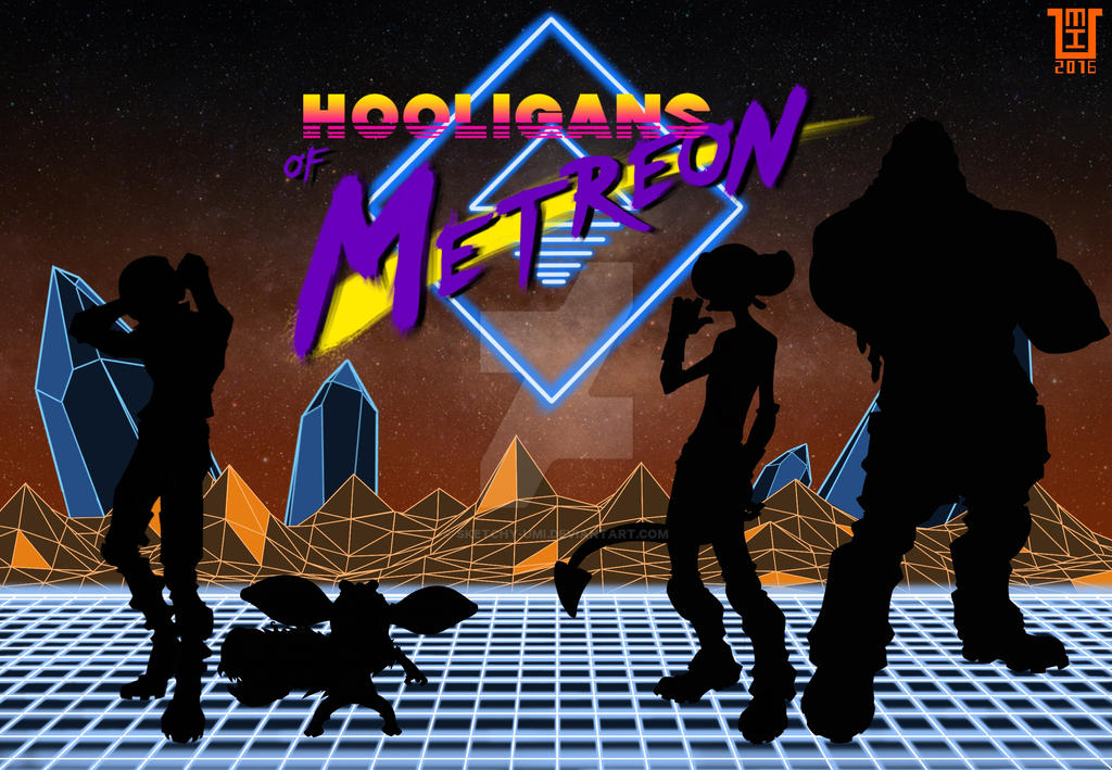 Hooligans of Metreon Promo Artwork by sketchy-umi