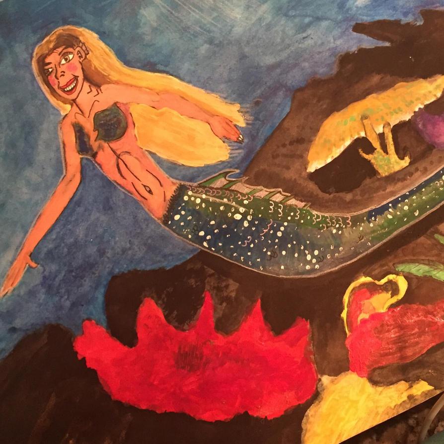 Atlantic Mermaid for MerMay 2018 by Dragonfire810