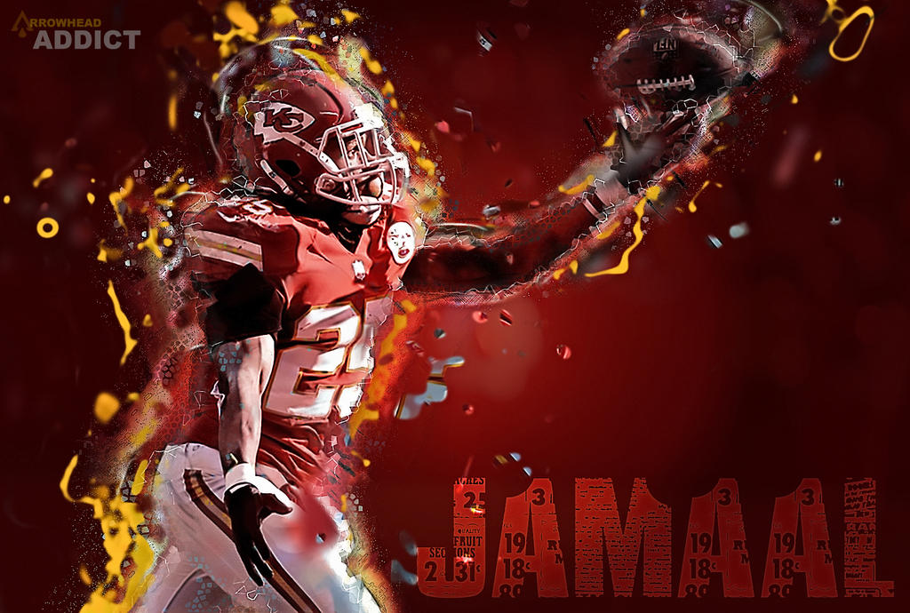 jamaal charles by bgering on deviantart