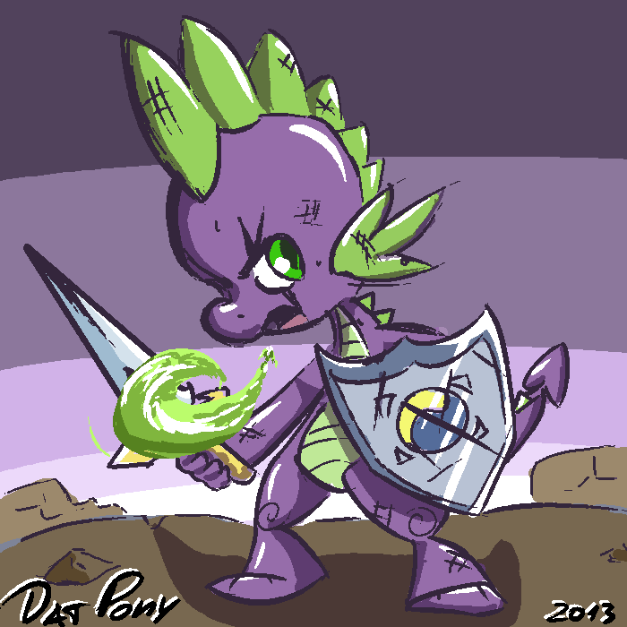 MLP - Little Defender by DatPonyPL