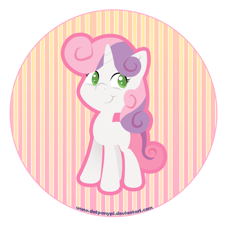 MLP: Sweetie Belle by DatPonyPL