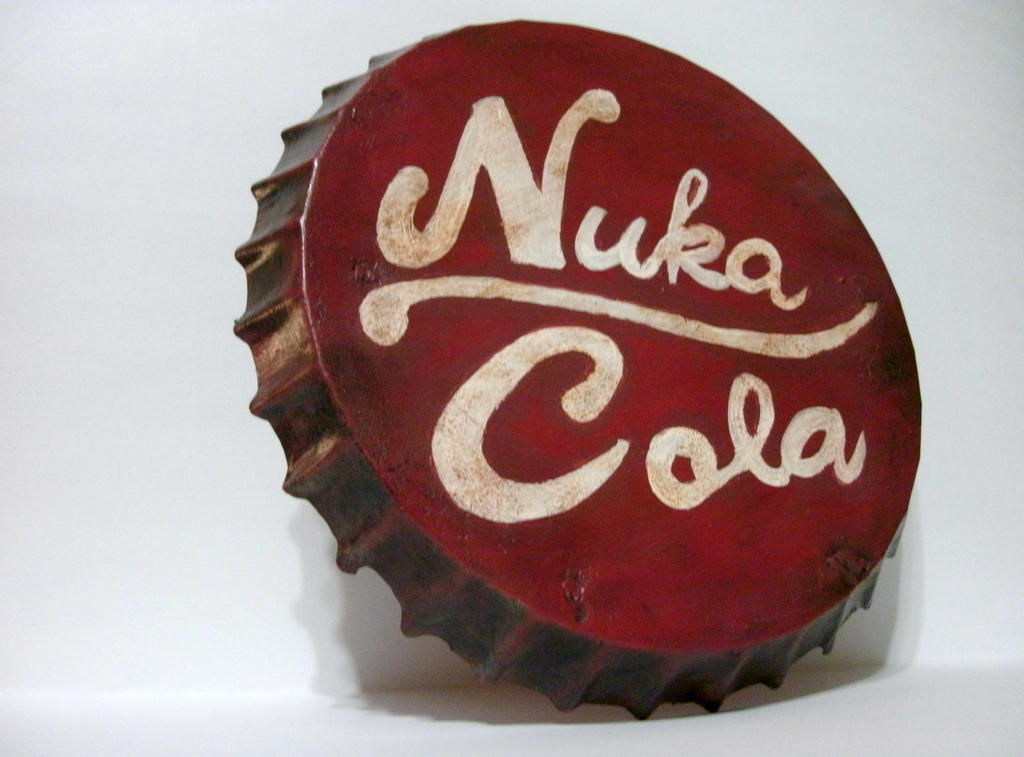 Fallout Nuka Cola Bottle Cap by hammer42