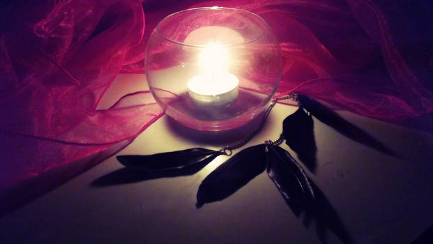 Candle Feathers