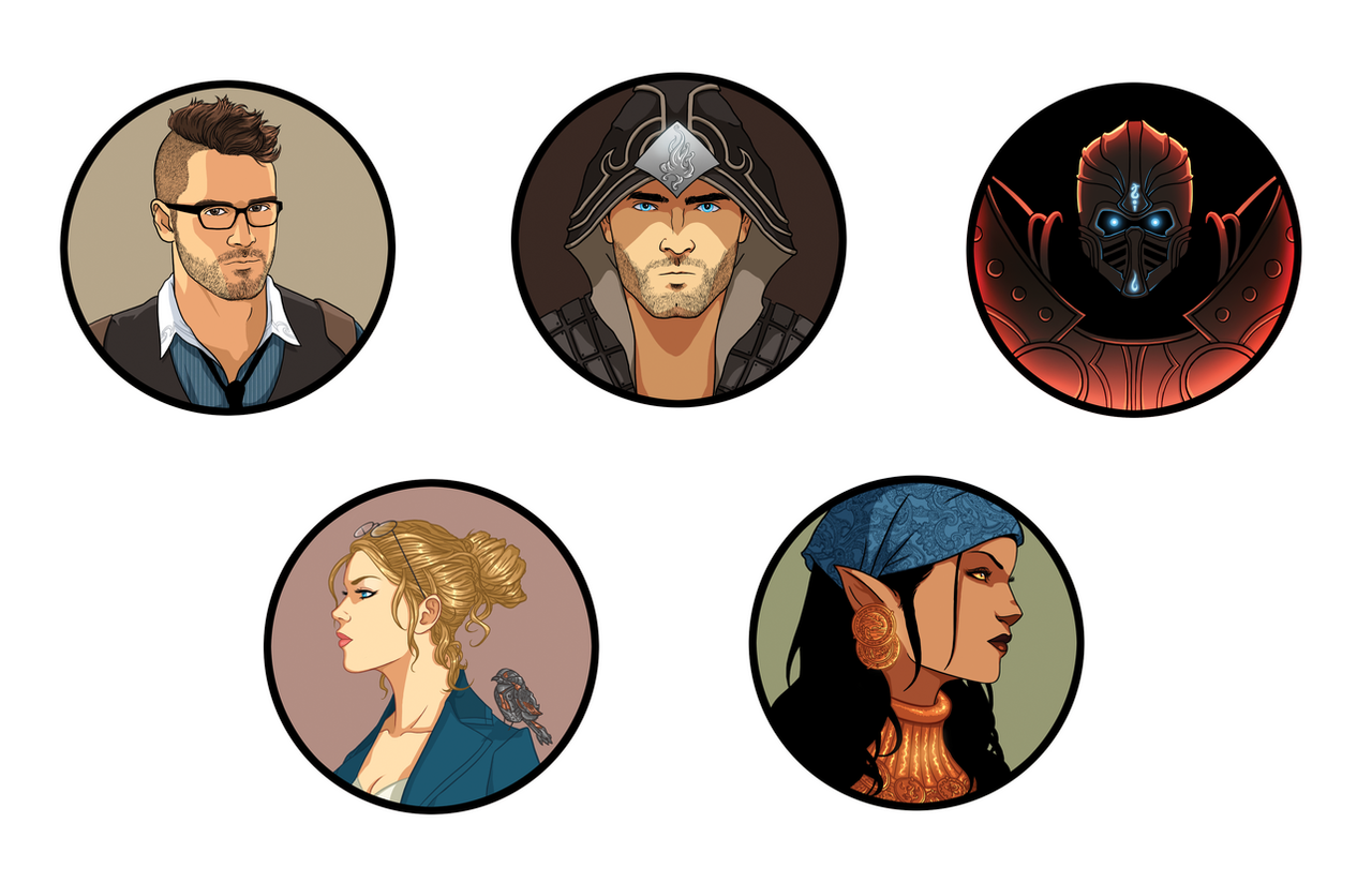 It's just an image of Delicate Printable D&d Character Tokens