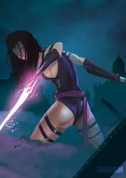 Psylocke by Johaunm