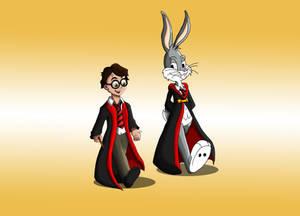 Potter and Bunny - derkman