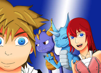 TheNerdyKairi - Hearts and Dragons