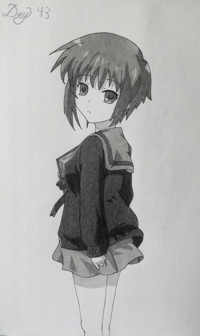 Yuki Nagato by Johnorizabal