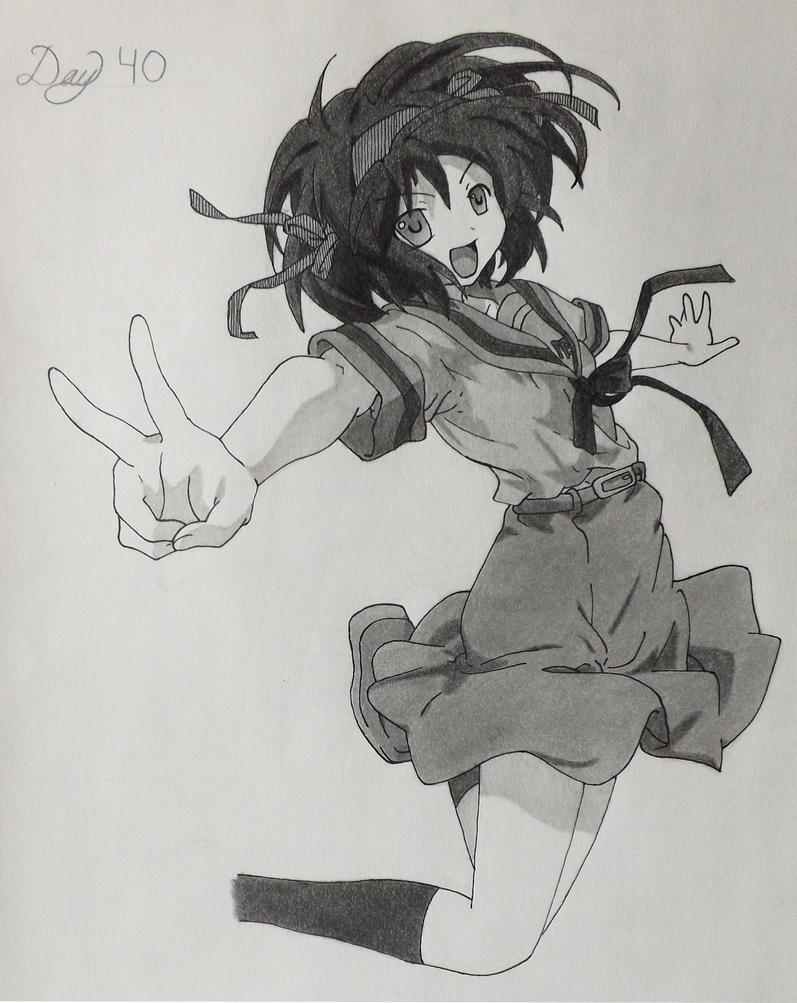 Suzumiya Haruhi by Johnorizabal