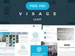 Visage UI Kit | FREE | 70+ Elements by DragosBubu