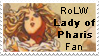 Lady of Pharis Stamp by rolw-club
