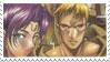 Lodoss Stamp 26 - Slayn+Leylia by rolw-club