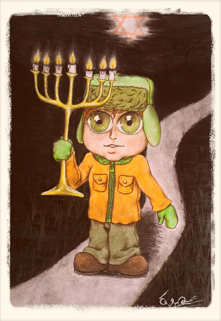 Lil' Jew Kyle by angelucifa