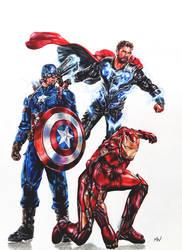 Avengers: Endgame by MattWArt
