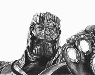 Thanos - Endgame by MattWArt