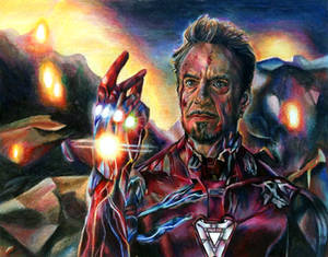 Iron Man Drawing (Avengers: Endgame)