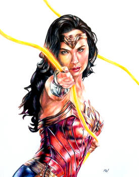 Wonder Woman 1984 Drawing