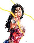 Wonder Woman 1984 Drawing by MattWArt