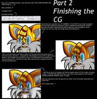 CG Tutorial - Finishing the CG by iceiwynd