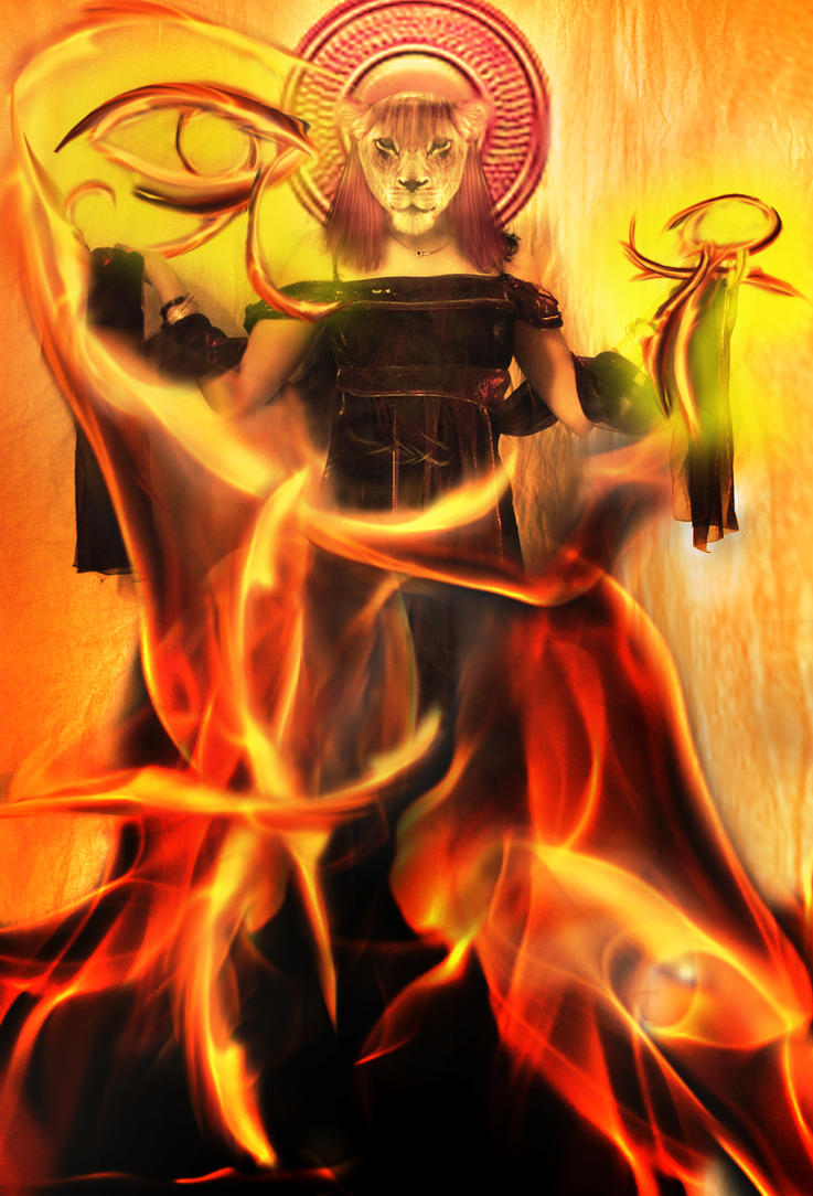 Resultado de imagen de diosa sekhmet