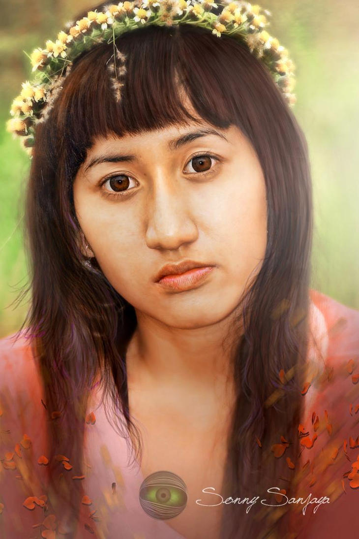 Portrait Opie by sanjayaisland